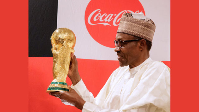 Buhari wants Super Eagles to win World Cup