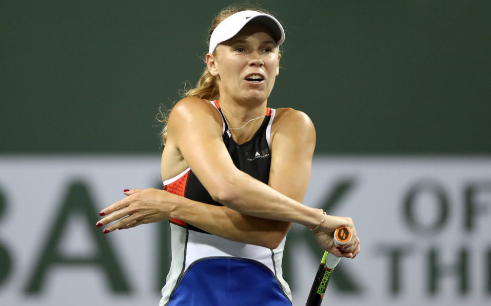 World No. 2 Wozniacki Ousted In Indian Wells
