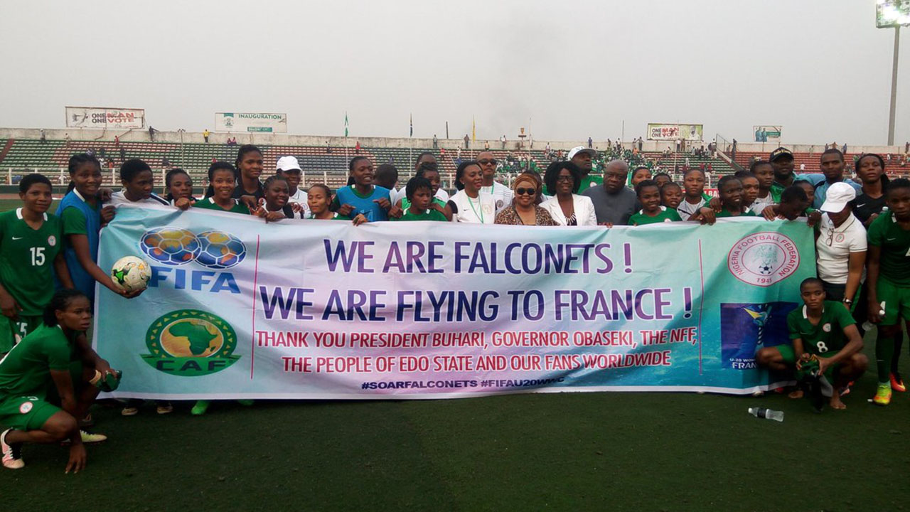 Falconets to face Germany, China, Haiti in 2018 World Cup