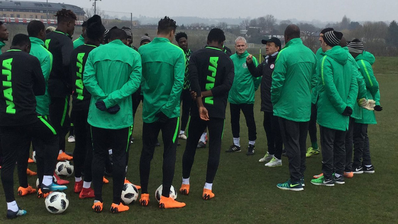 England can't beat Eagles at Wembley, says Rohr