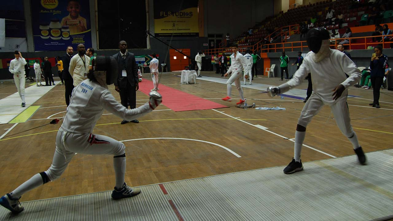 Algeria Egypt South Africa Dominate African Fencing