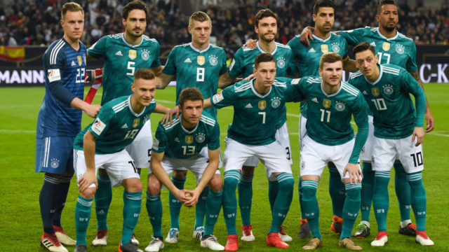 Germany top FIFA standings despite wobble