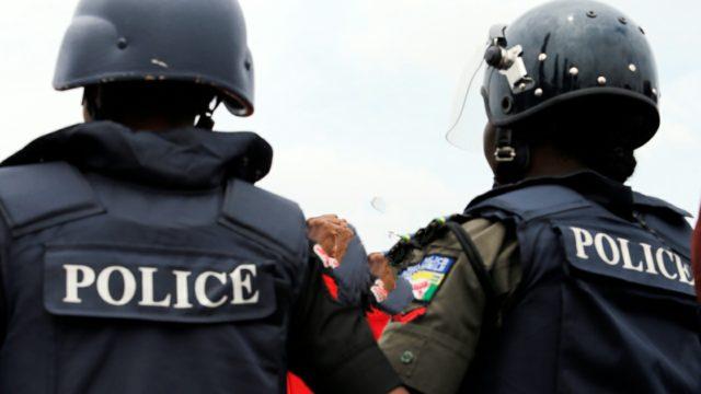 2 226 Graduate Policemen Protest Against Botched Promotion