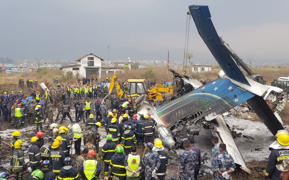 US Bangla flight BS211 crashes in Nepal
