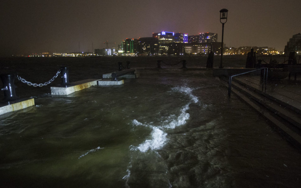 At least 5 dead as storm brings wind, floods and snow to ...