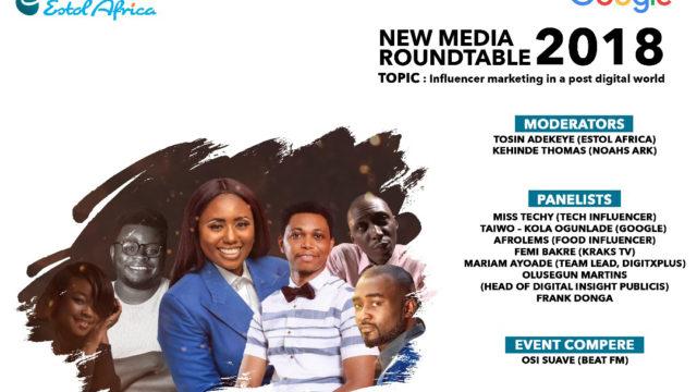 Estol Africa, Google Nigeria host new media roundtable