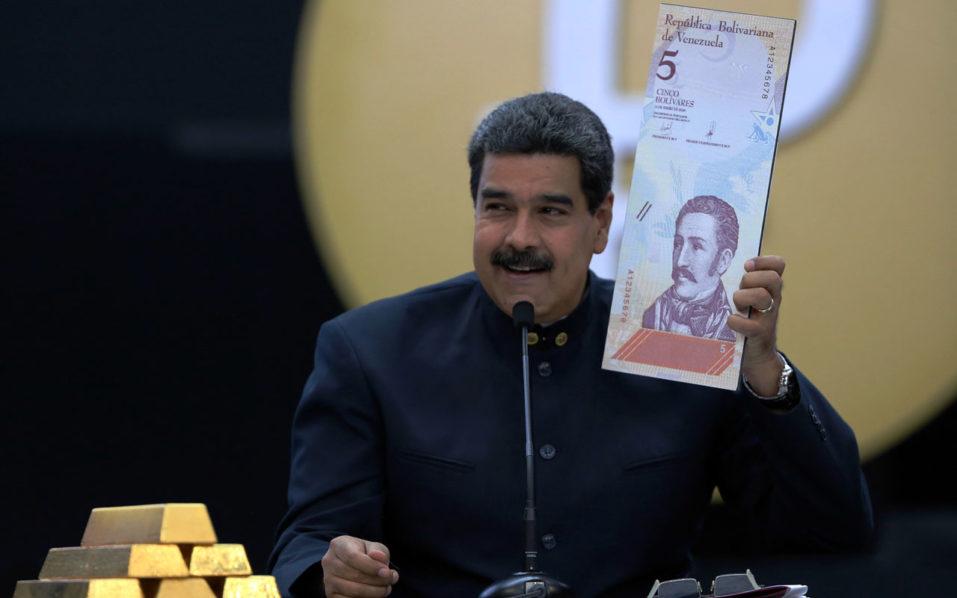 Venezuela knocks 3 zeros off currency in re-denomination