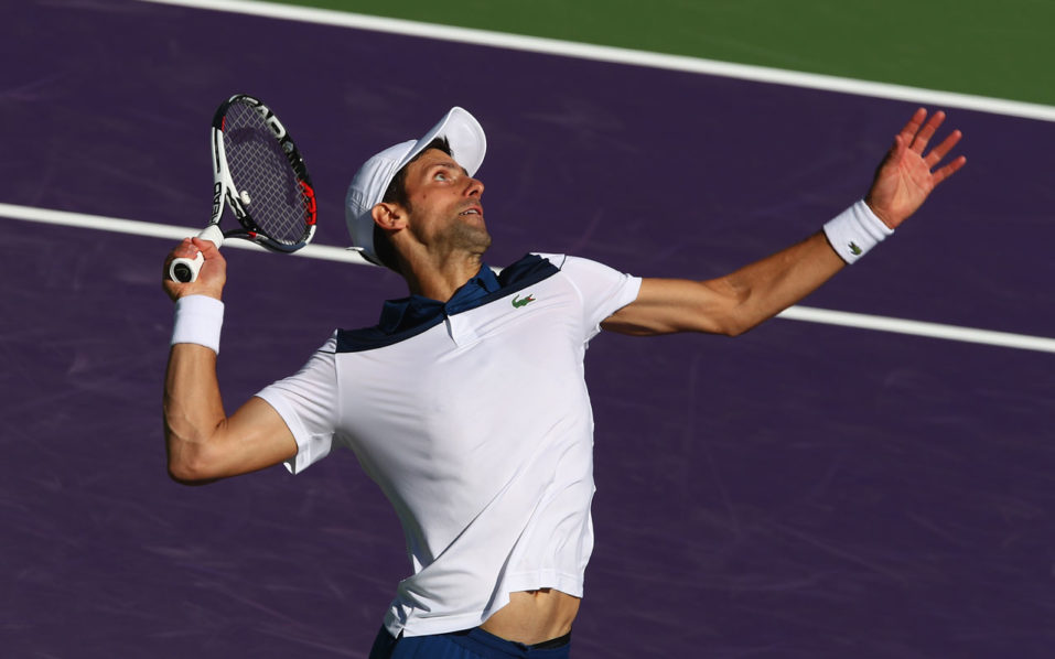 Miami Open: Pain-free Novak Djokovic fully focused on his game