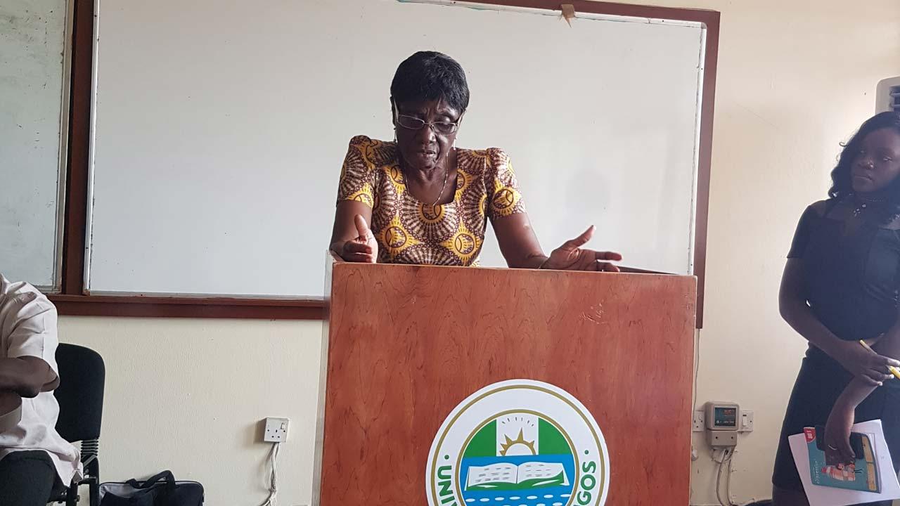 Ovation Admiration As Ifeoma Okoye Reads At Unilag The