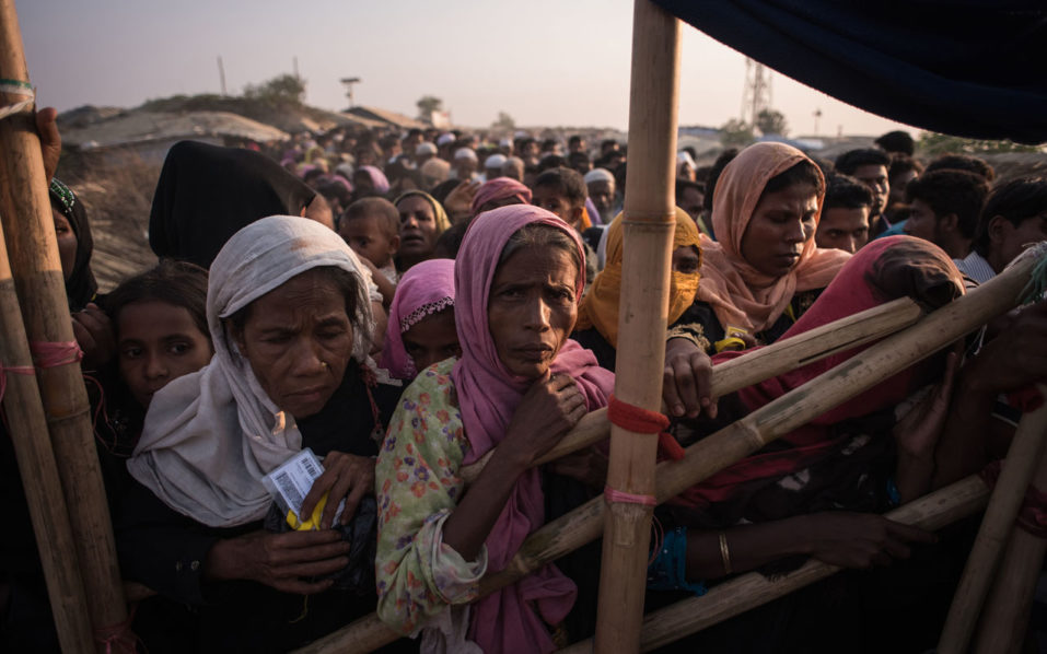 Myanmar erects security posts on burned Rohingya land: Amnesty