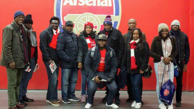 Seven MTN customers relish joy of watching Arsenal in London