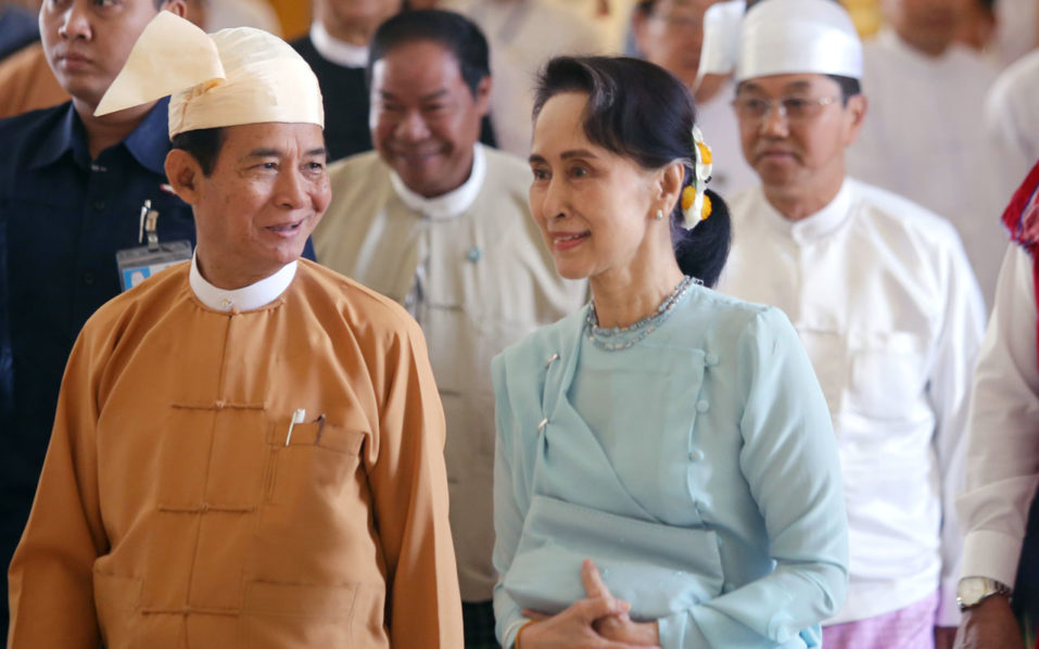 Myanmar president pledges to amend army-scripted constitution ...
