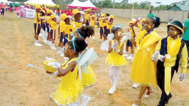 Daffodil House wins Bijamic Private School Inter-house competition