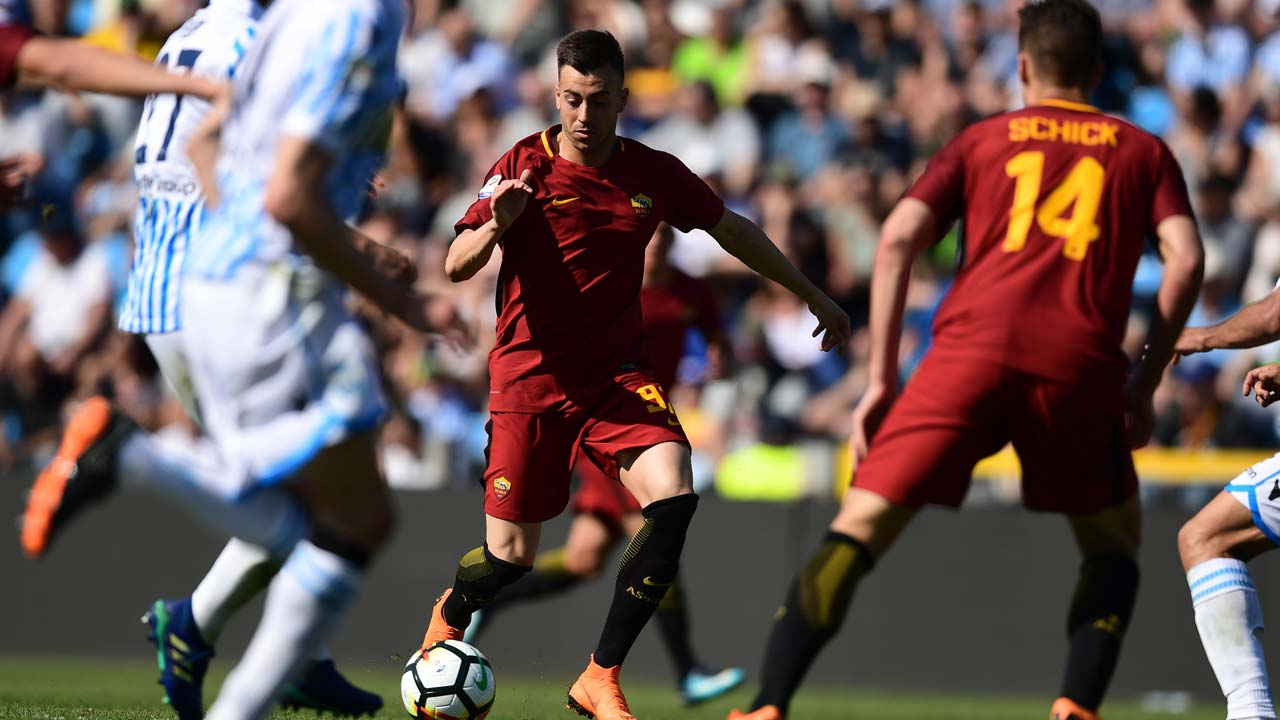SPORT: Roma warm up for Liverpool clash with 3-0 win over 3-0 SPAL