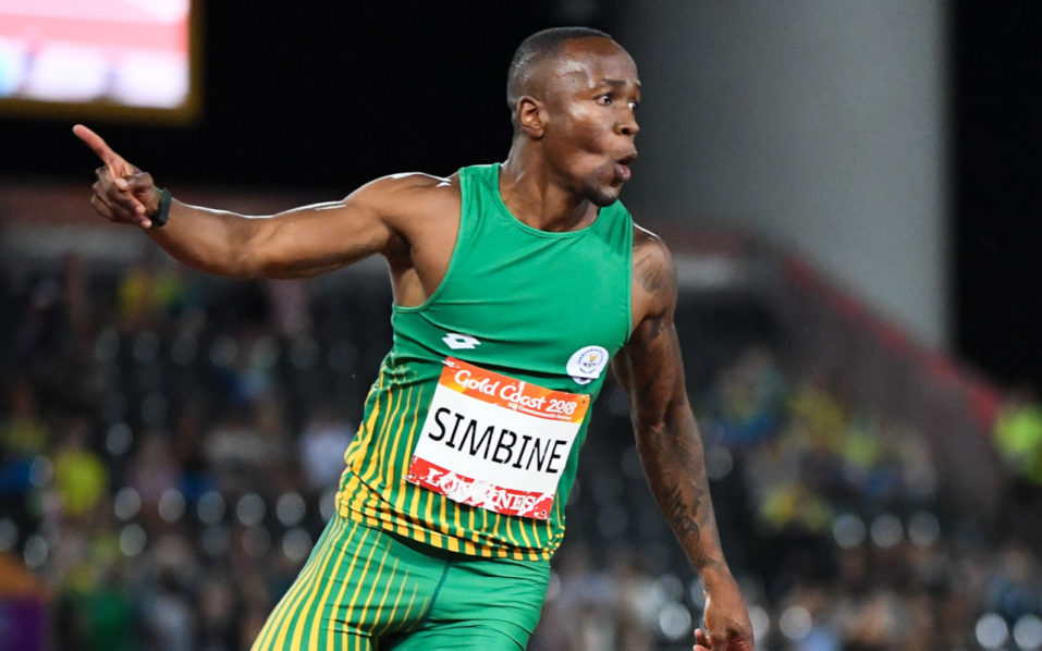 Simbine, Bruintjies stun Jamaican star to finish 1-2 in 100m