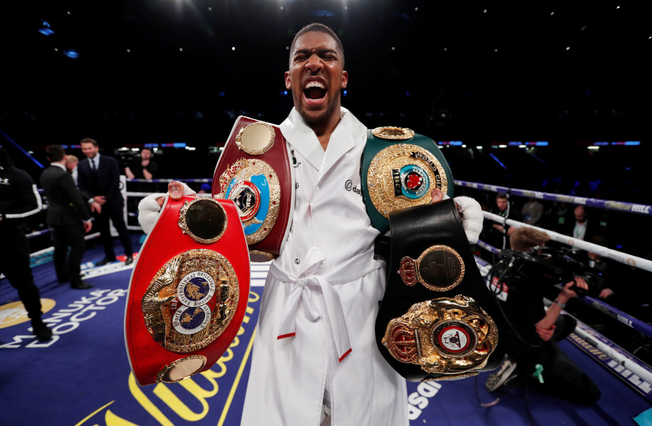 WBA Orders Joshua To Defend Title With Povetkin