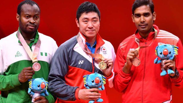 Nigeria's Aruna Quadri settles for silver on final day of Commonwealth Games