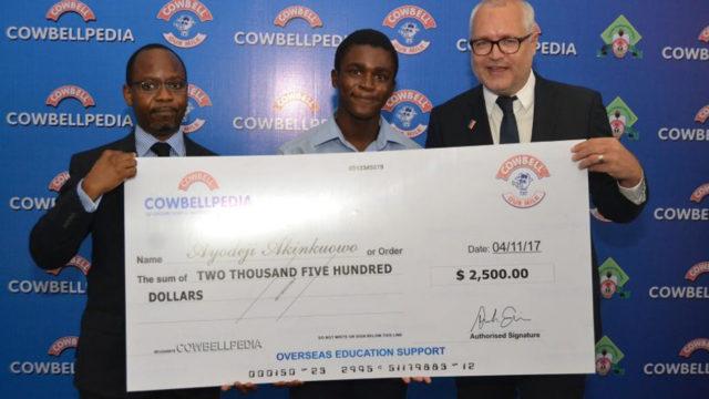 Cowbellpedia ambassador, Akinkuowo, gets Russian scholarship