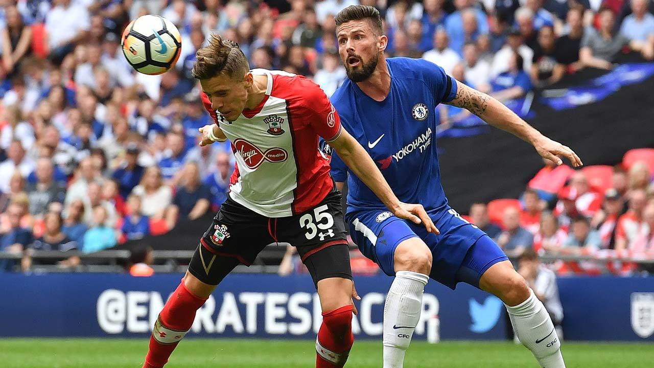 SPORT: Chelsea face Man Utd in FA Cup final as Giroud sinks Saints