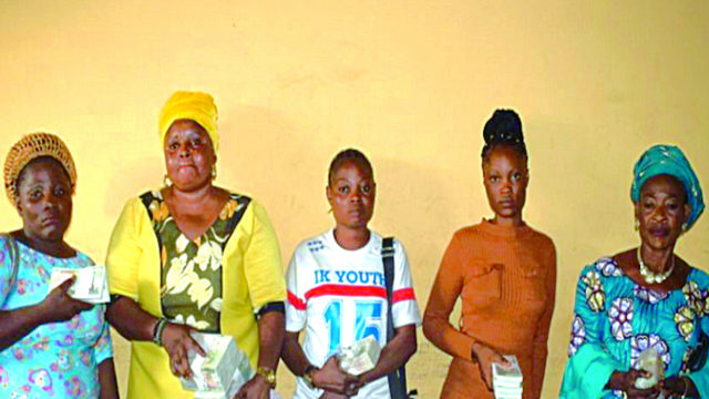 Police nab five currency hawkers in Ogun
