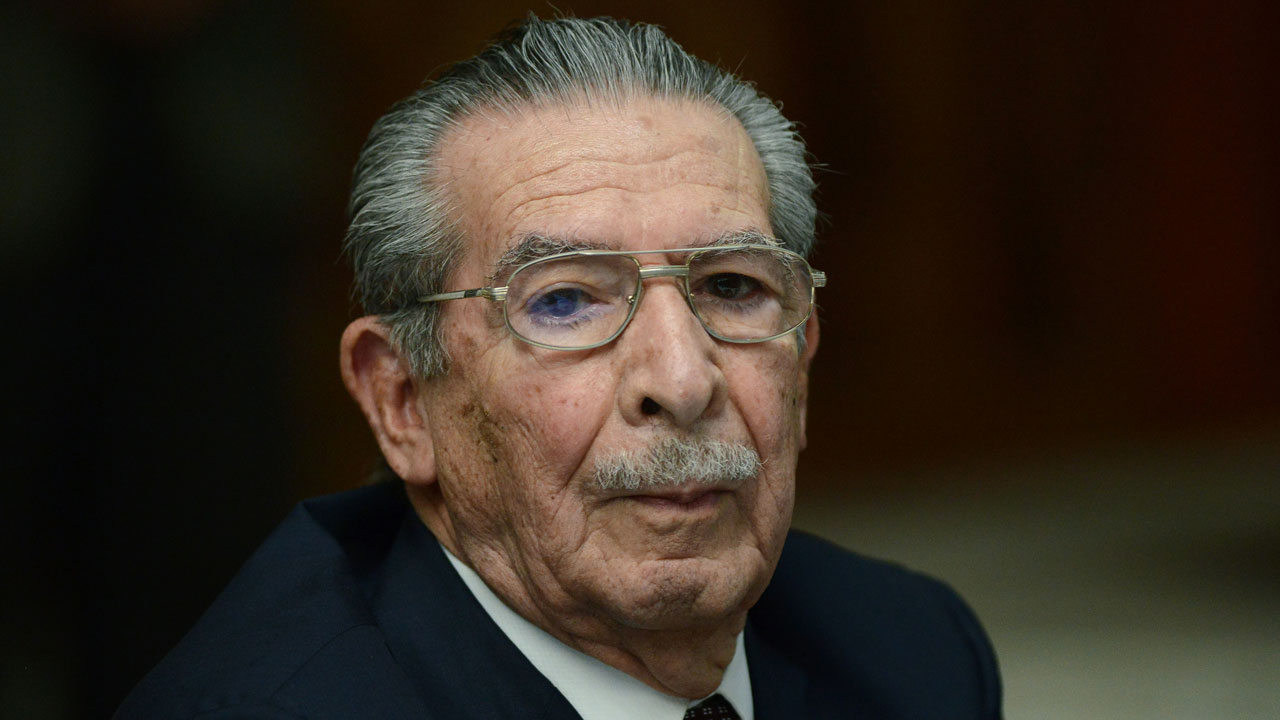 Former Guatemalan dictator Efraín Ríos Montt dies at 91