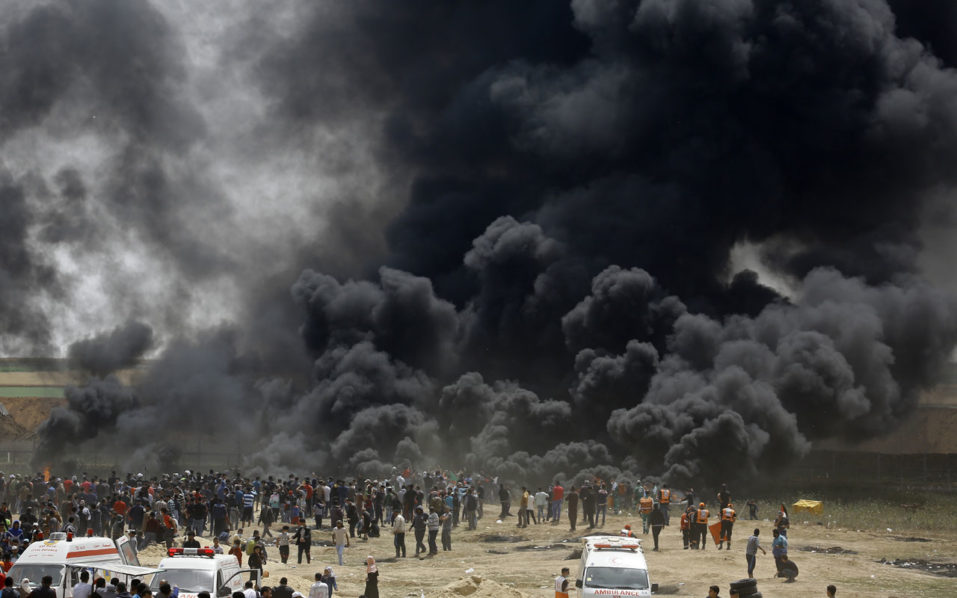 New Gaza protests on Israel border after deadly violence