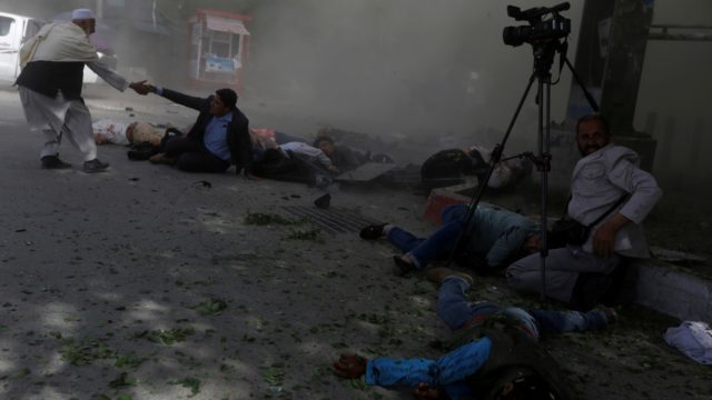 At least 12 killed in bomb attack on Afghan election rally