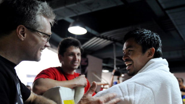 Pacquiao: 'No decision' on trainer after reports Roach ditched