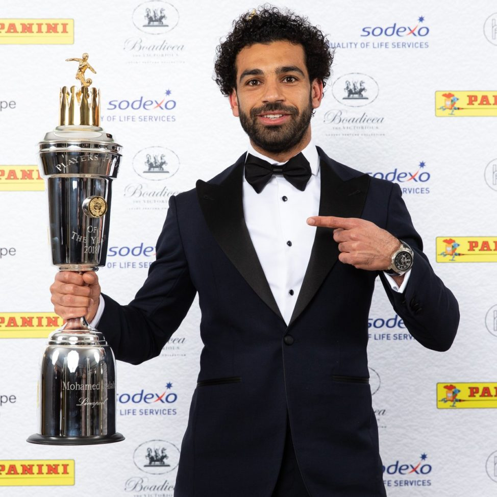 Salah named PFA Player of the Year