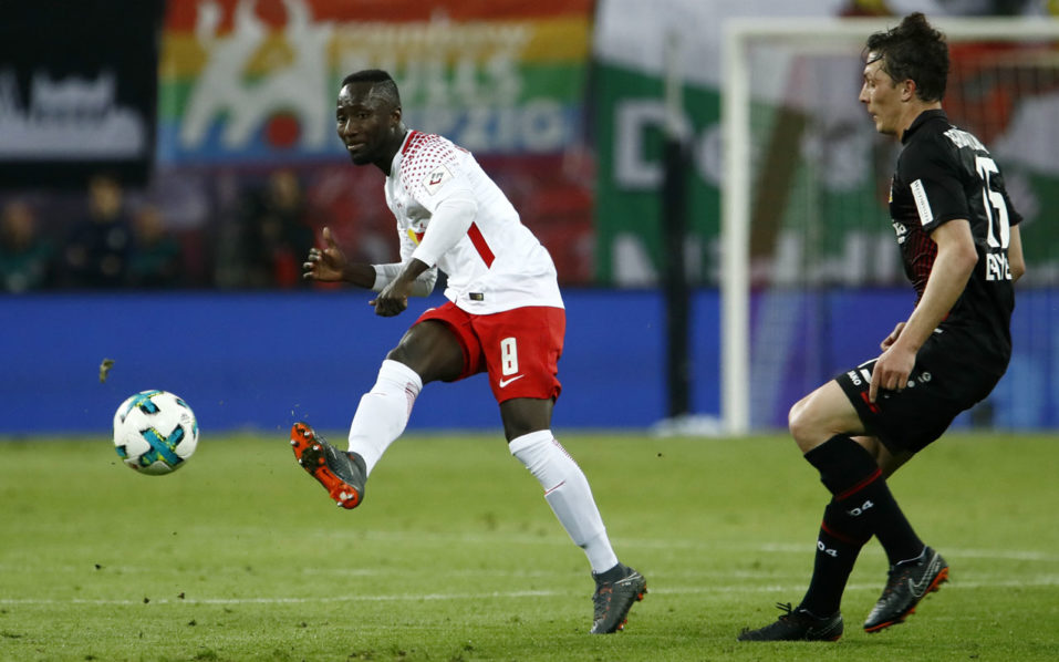 Image result for Leipzig's Naby Keita set to face Marseille despite hip knock