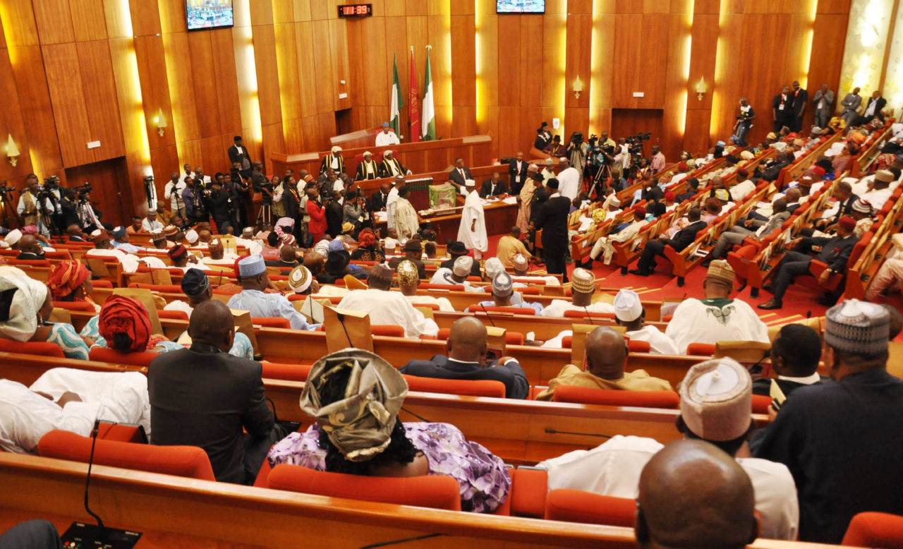 Nigerian Senate Chamber. Photo: Guardian