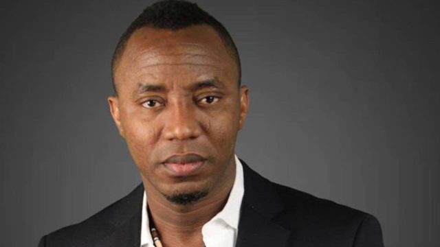 Sowore declares to run for  presidency on AAC platform
