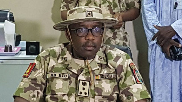I'm here to conclude fight against Boko Haram insurgency, says GOC