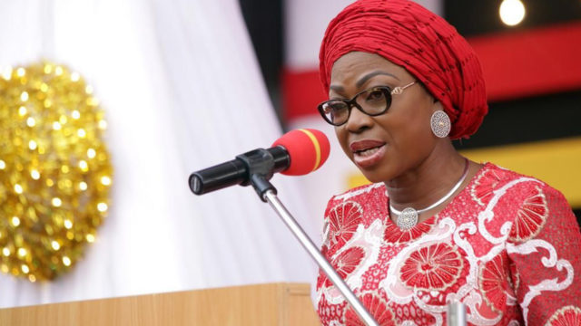 Ambode's wife urges women to speak out against domestic violence