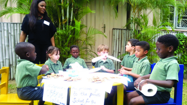 Banana Island School pupils show talents at open day
