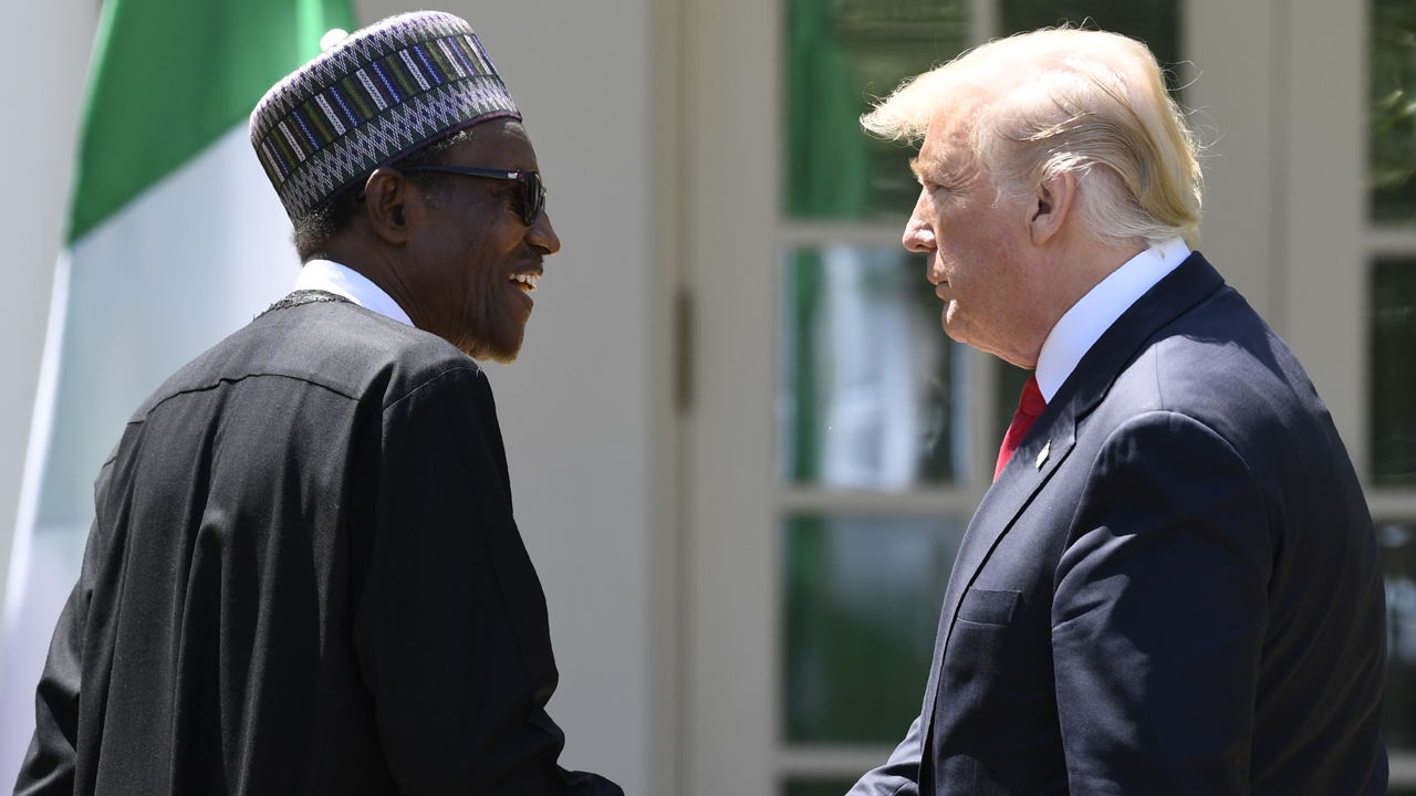 Image result for trump and buhari