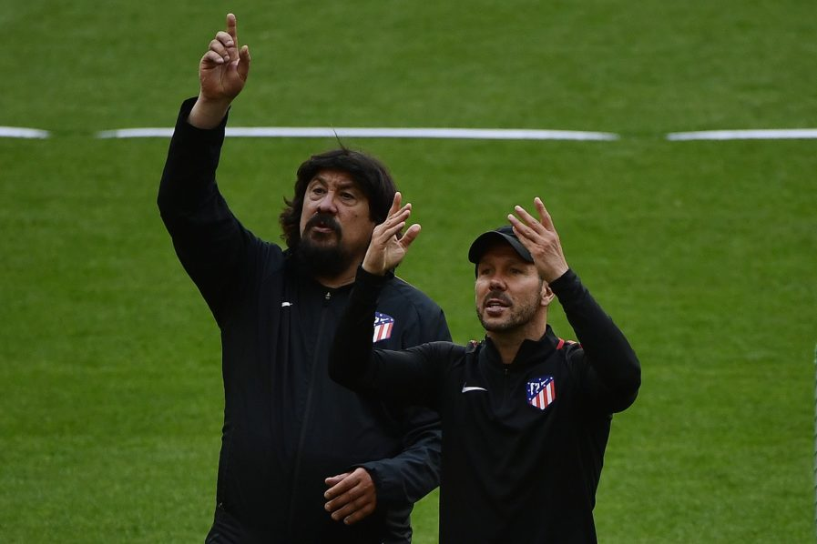 Atletico won the trophy of the Europa League