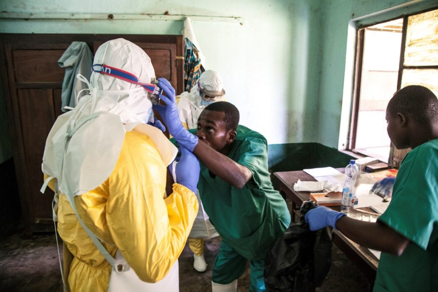 WHO reports new Ebola case in DR Congo, vaccine this week