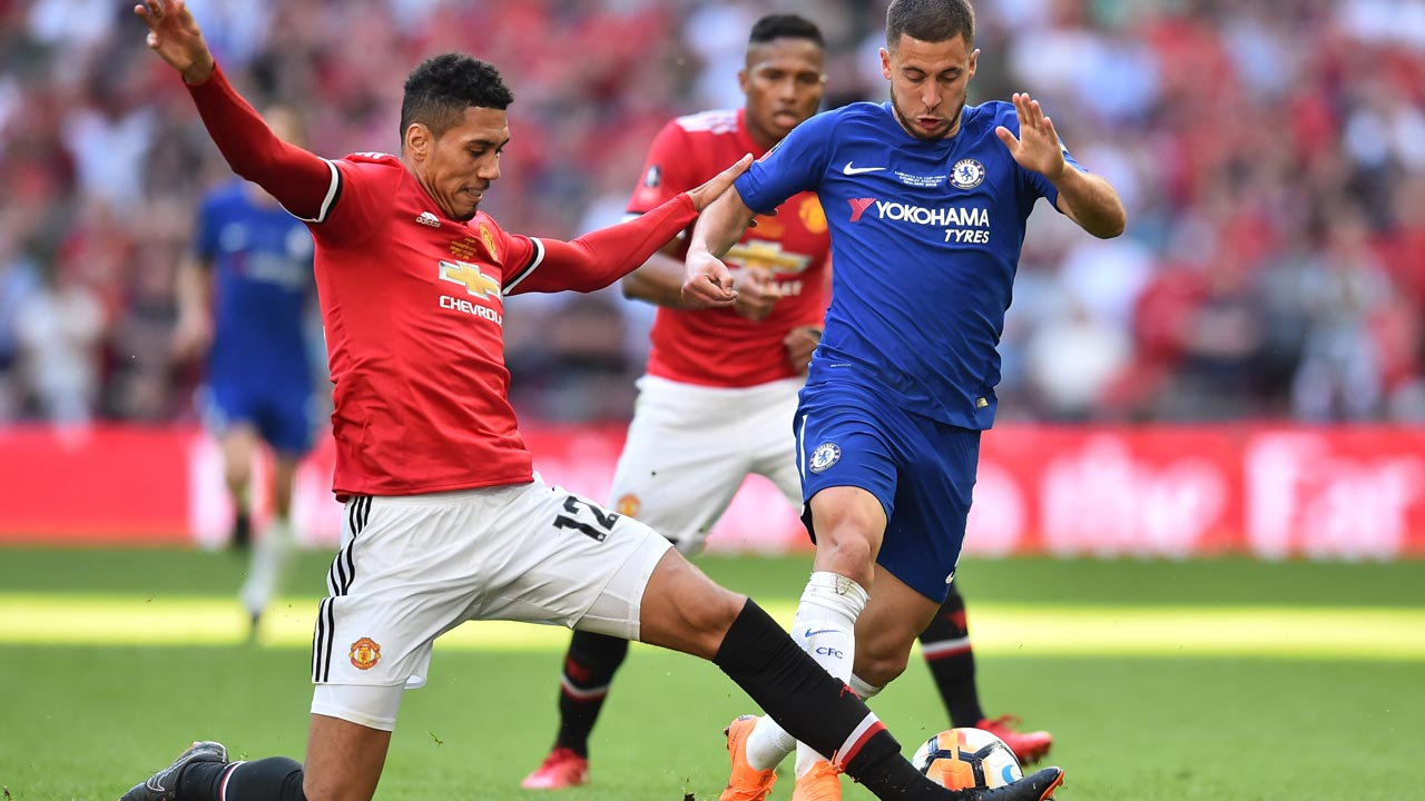 SPORT: Hazard the hero as Chelsea hold firm to win FA Cup
