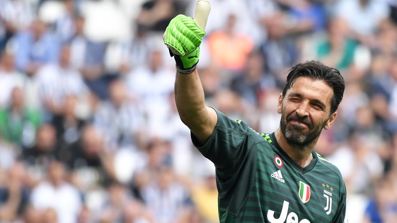 After 17 years, Buffon bids tearful farewell to Juventus ...