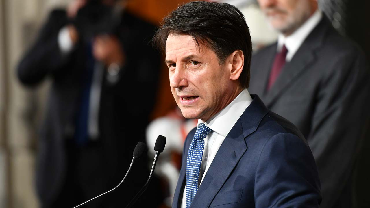 Giuseppe Conte refuses to be Italy's PM - presidential administration