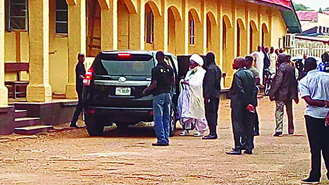 El-Zakzaky, wife arraigned in Kaduna court amid tight security