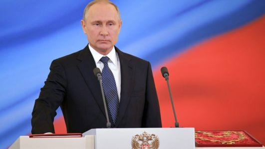 Vladimir Putin sworn in as president for fourth term