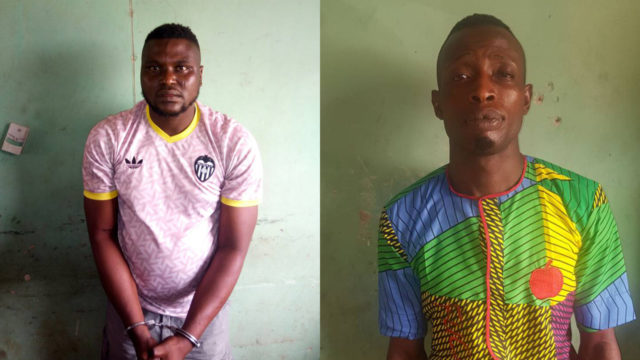 Police arrest two Offa robbery kingpins