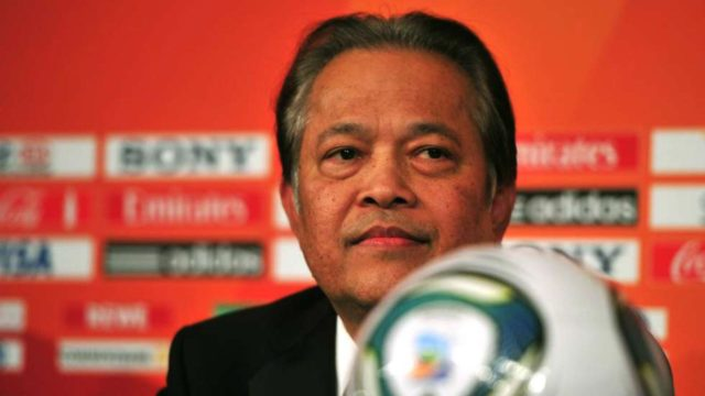 FIFA reduces ban on former Thai football chief