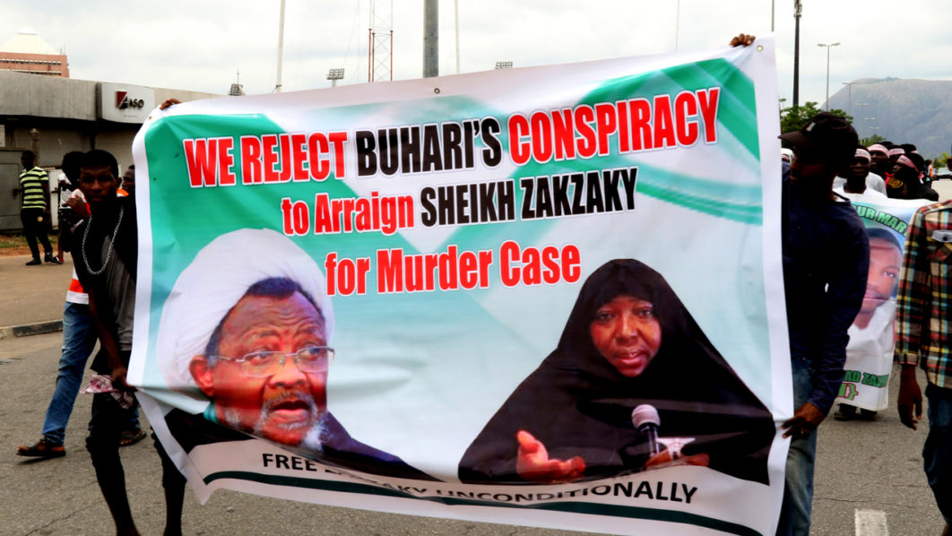 NEWS:Zakzaky makes rare appearance in Nigeria court