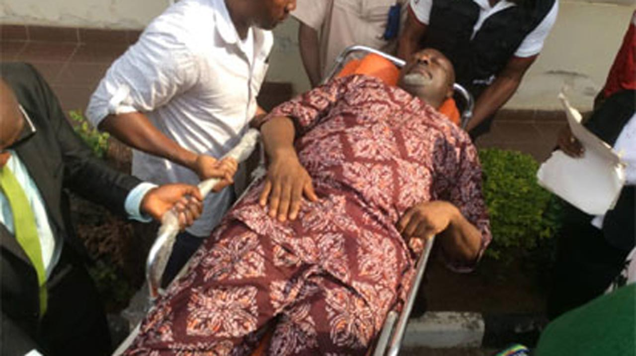 Masked operatives move Dino Melaye from Police clinic | The Guardian Nigeria Newspaper - Nigeria and World News