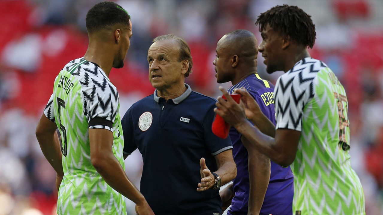 Rohr reveals how Super Eagles will play against Argentina