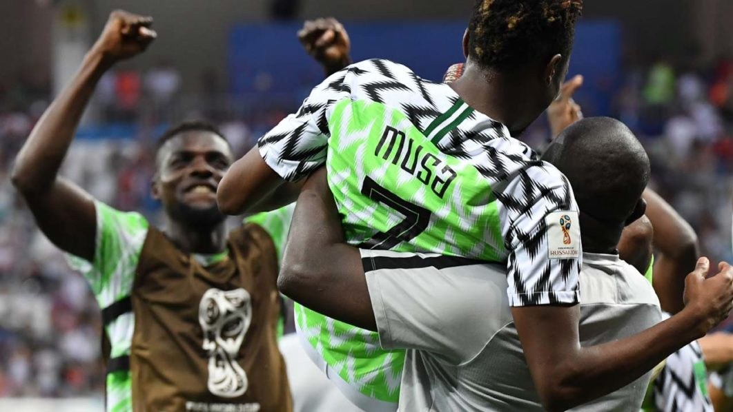 Image result for Nigeria win against iceland