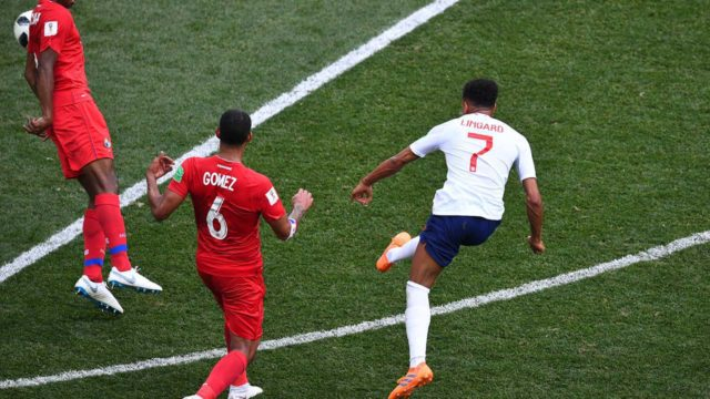 England thrash Panama to move into last 16 with Belgium
